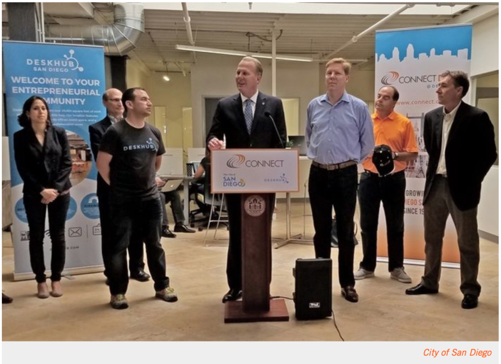 CureMatch Featured in Press Conference with San Diego Mayor Kevin Faulconer
