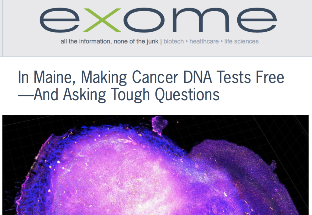 CureMatch Co-Founder featured in Xconomy Article on Genetic Oncology