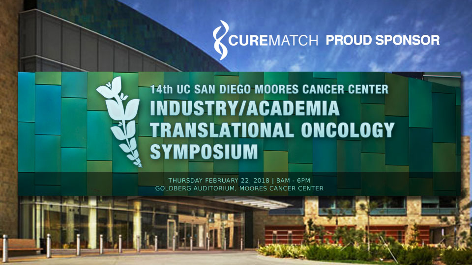CureMatch Sponsors 14th Moores Cancer Center Industry/Academia Translational Oncology Symposium