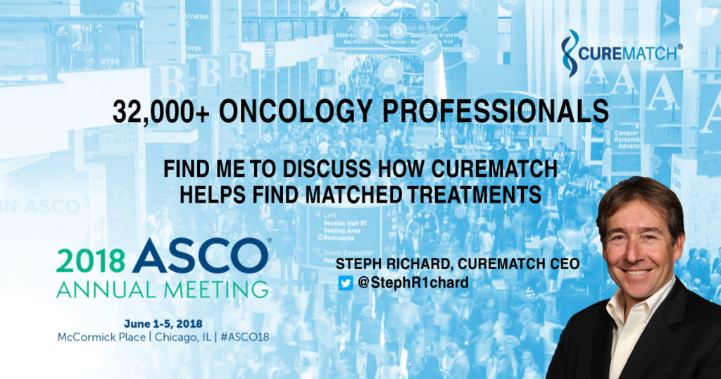CureMatch at ASCO18 To Discuss Benefits of Precision Medicine