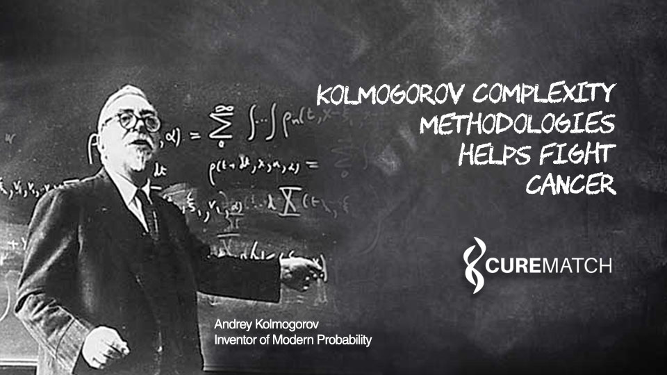 Kolmogorov Complexity Methodologies Helps Fight Cancer