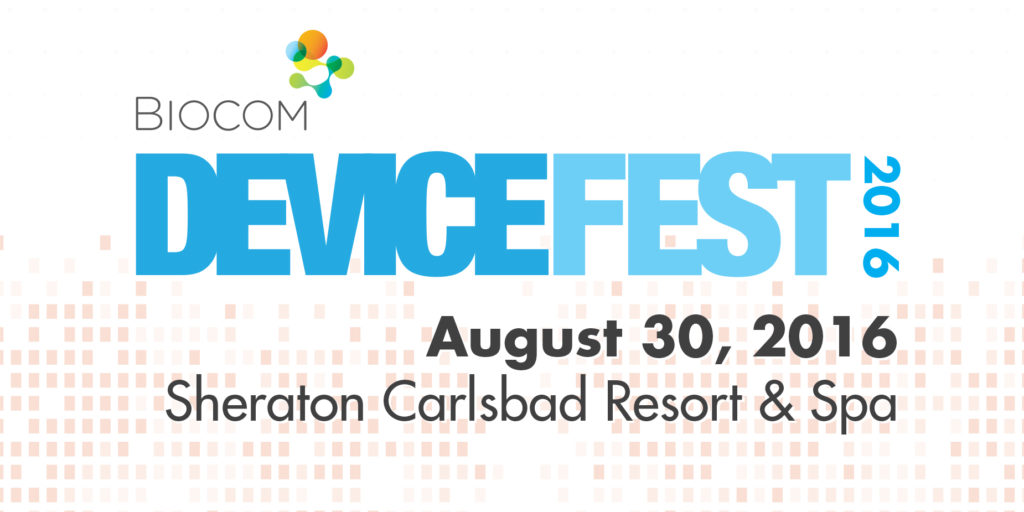 CureMatch Selected As Finalist At BIOCOM DeviceFest Pitch Competition