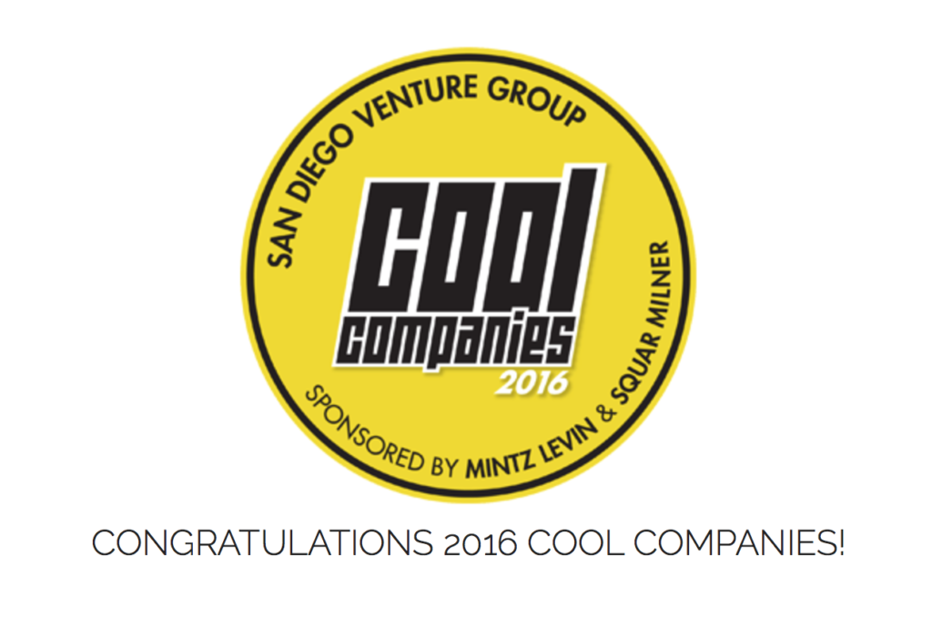 CureMatch Recognized As 2016 Cool Company By San Diego Venture Group