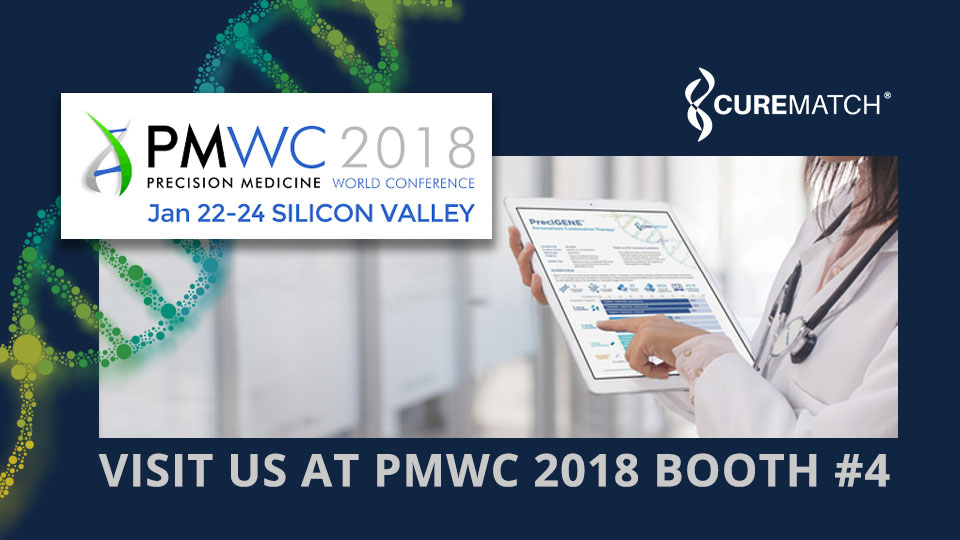CureMatch to Exhibit and Share Advances in Precision Medicine at PMWC 2018