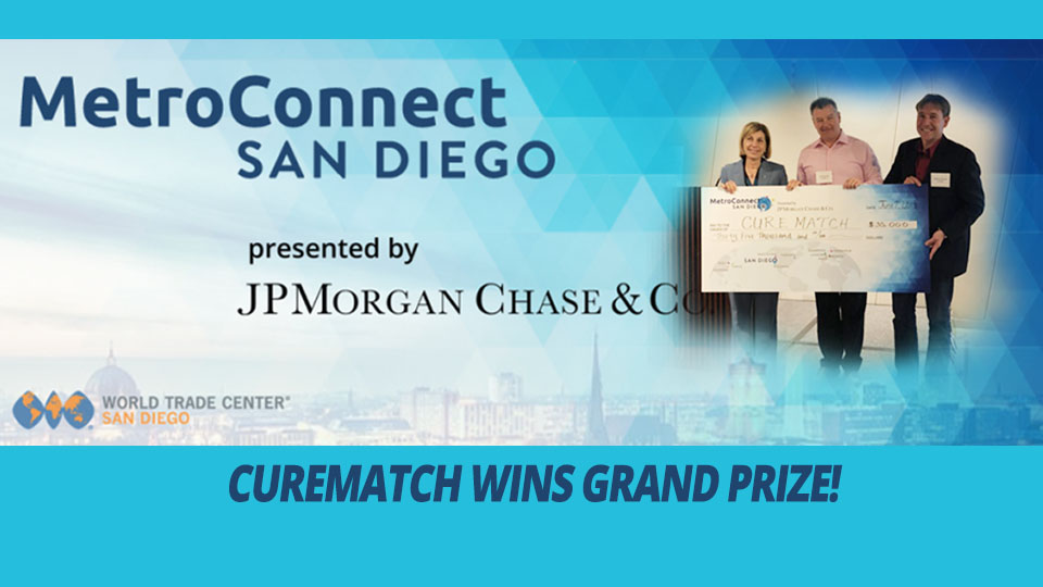 CureMatch Wins MetroConnect PitchFest $35,000 Grand Prize